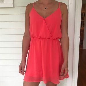 Bright Pink Minidress